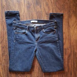 Banana Republic Dark Blue Wash Skinny Jeans 29